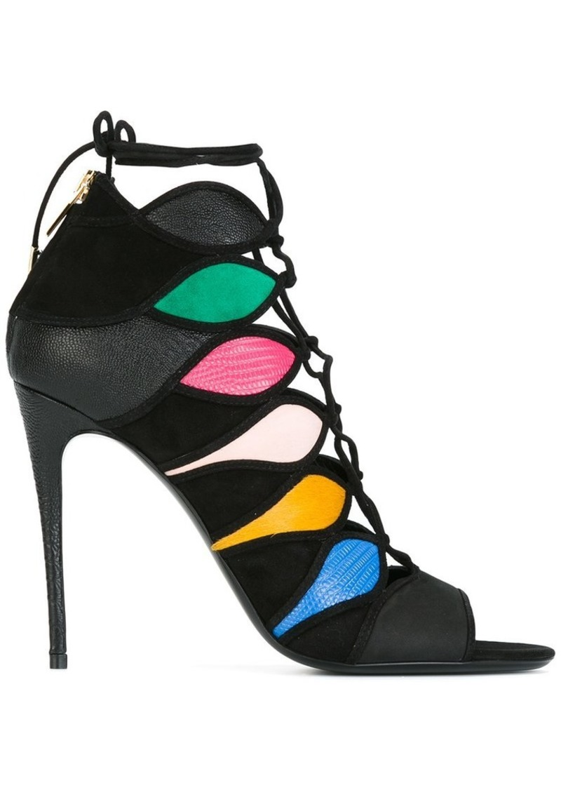 Ferragamo colour block sandals