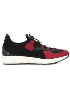 Ferragamo contrast panel sneakers