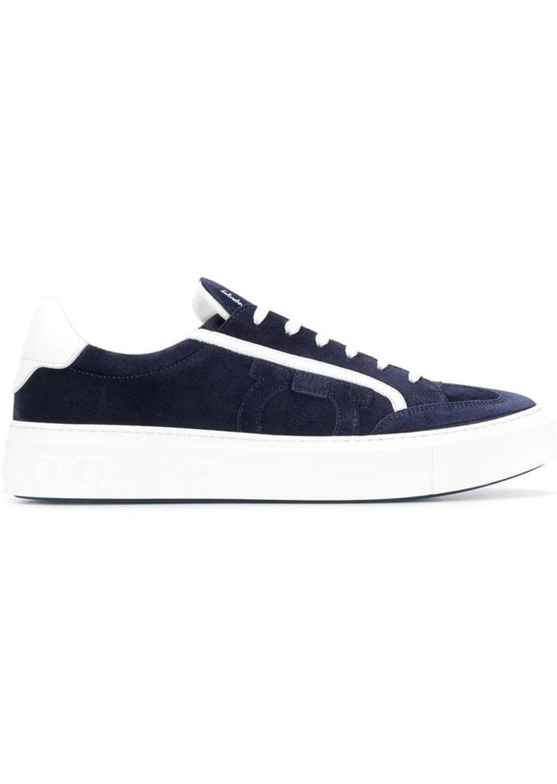 Ferragamo contrast trim Gancio sneakers