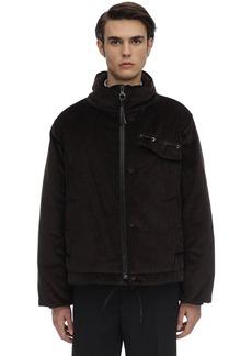Ferragamo Cotton Corduroy Padded Jacket
