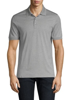 Ferragamo Cotton Gancini Polo