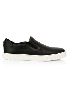 Ferragamo Cruiseswilly Leather Sneakers