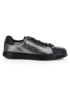 Ferragamo Cube Glitter Sneakers