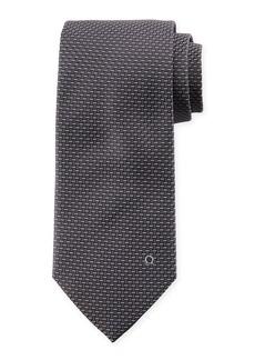 Ferragamo Dash-Pattern Silk Tie