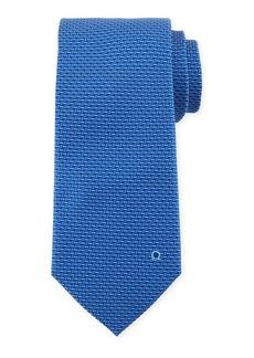 Ferragamo Dash-Print Silk Tie