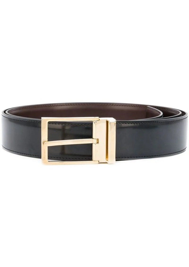 Ferragamo double buckle belt