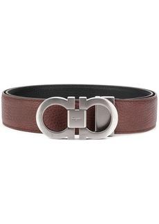 Ferragamo double buckle logo belt