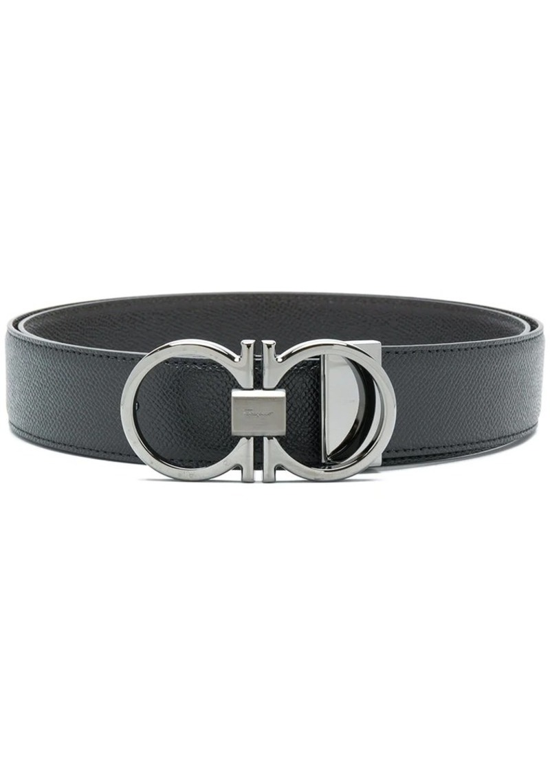 Ferragamo double gancini belt