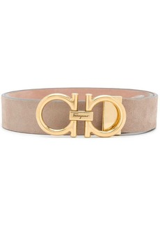 Ferragamo double Gancini buckle belt