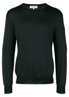 Ferragamo Double Gancini print sweatshirt