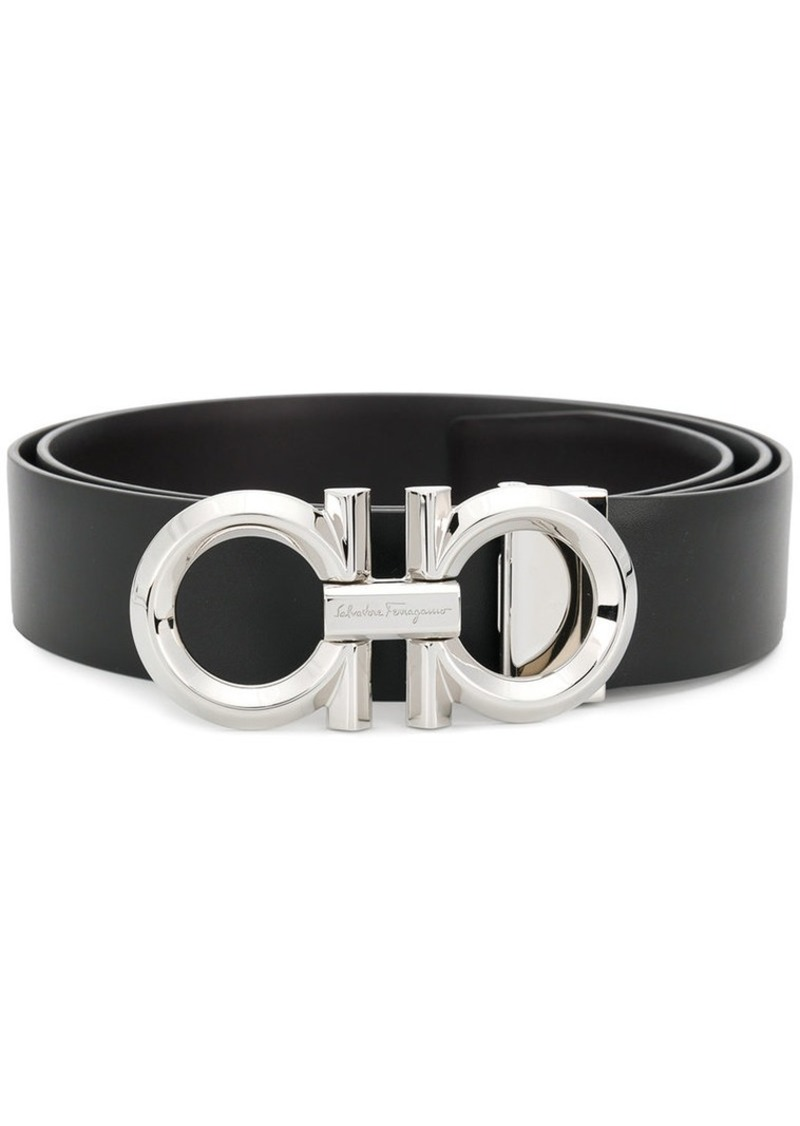 Ferragamo double Gancio buckle belt