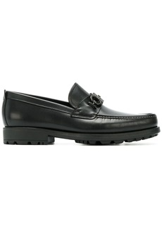 Ferragamo double Gancio horsebit loafers