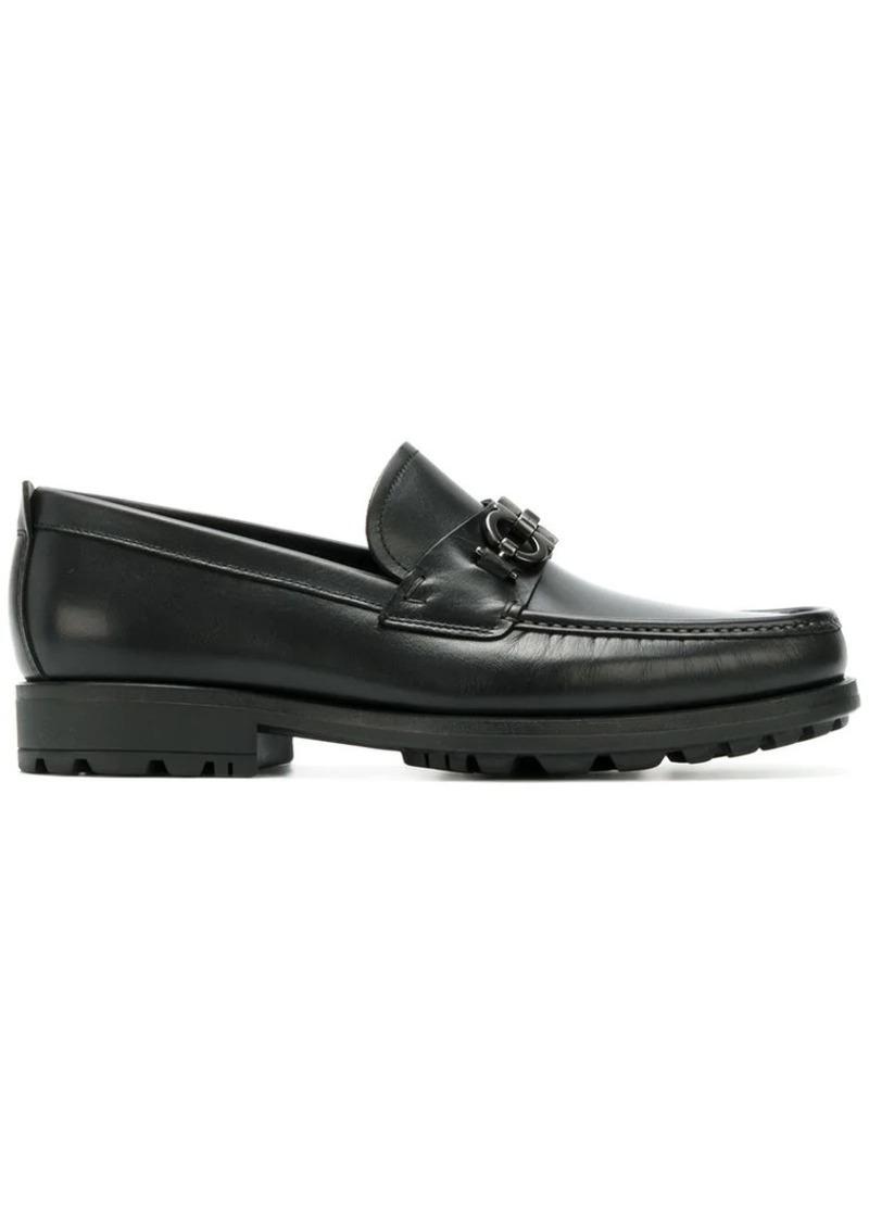 Ferragamo double Gancio horsebit loafers