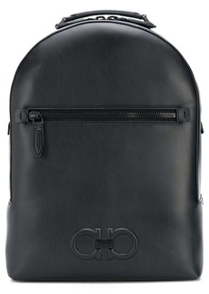 Ferragamo double Gancio leather backpack