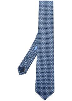 Ferragamo double Gancio print tie