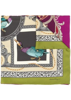 Ferragamo duck print scarf