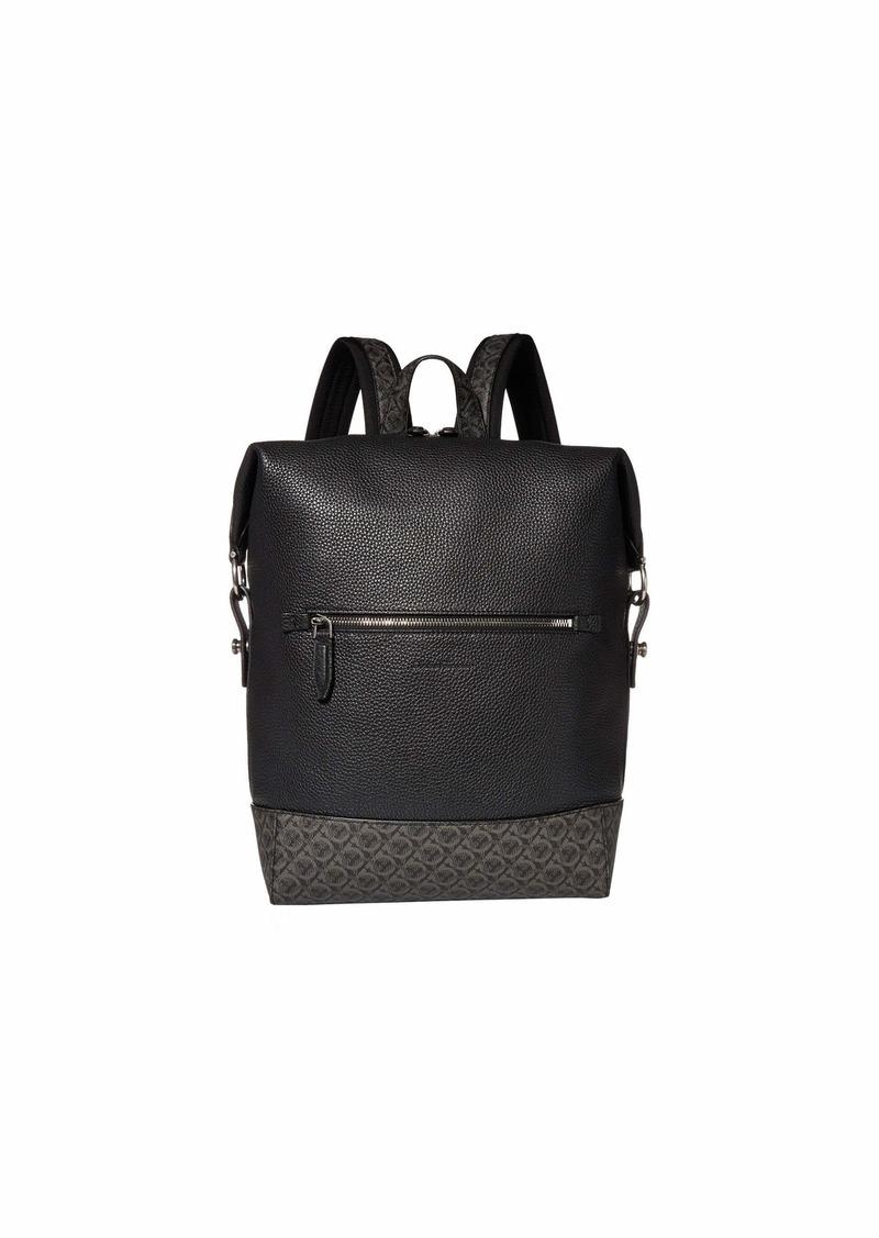 Ferragamo Dynamo Gancio Backpack - 24A339