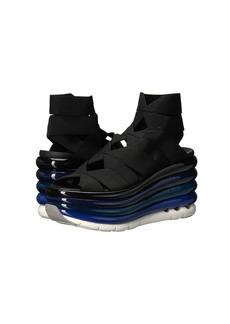Ferragamo Elastic Platform Slip-On Sneaker