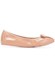 Ferragamo elasticated Vara ballerina shoes