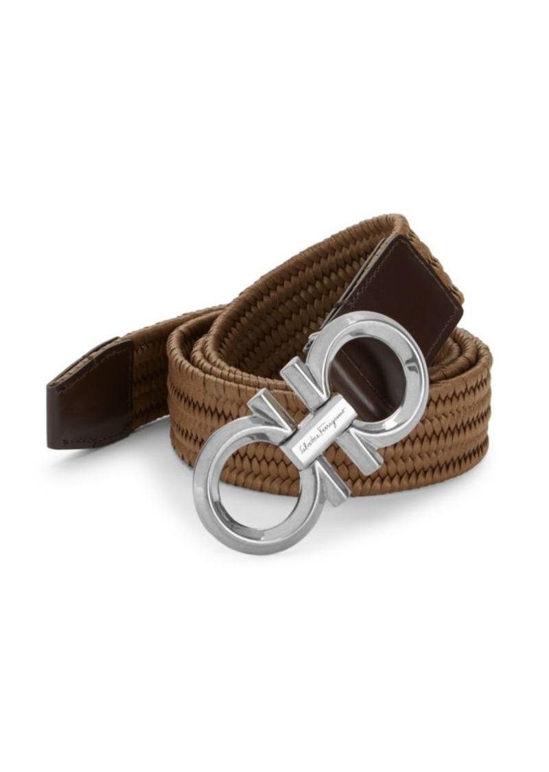 Ferragamo Elasticized Insignia Strap Belt
