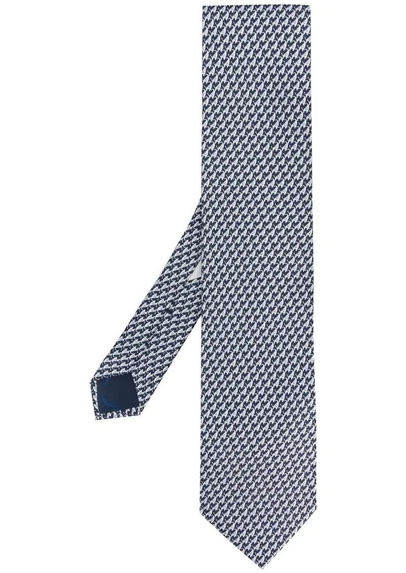 Ferragamo Elephant print tie