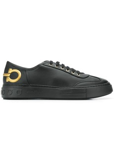 Ferragamo emblazoned gancini motif sneakers