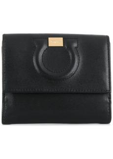 Ferragamo embossed Gancio wallet