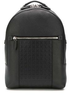 Ferragamo embossed logo backpack