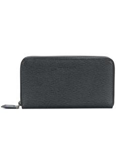 Ferragamo embossed zip around wallet