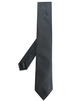 Ferragamo embroidered Gancio tie