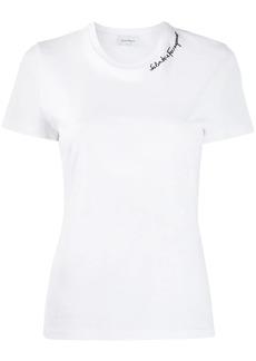 Ferragamo embroidered logo T-shirt