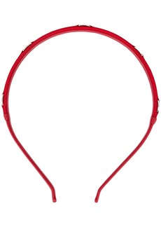 Ferragamo engraved logo headband