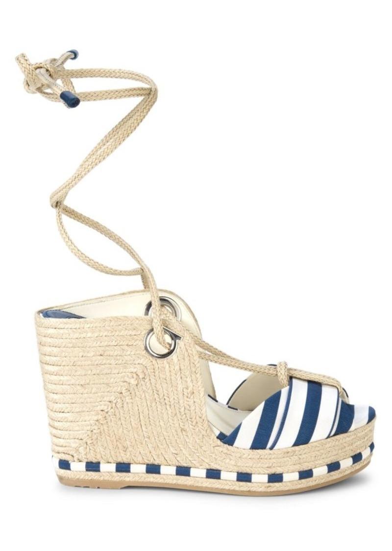 Ferragamo Evita 8 Platform Sandals