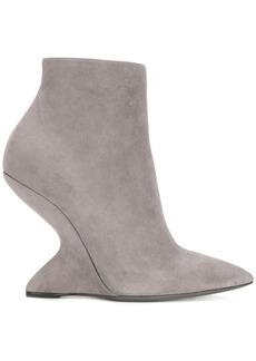 Ferragamo F Heel booties