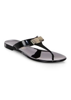 Ferragamo Farelia Jelly Thong Sandals