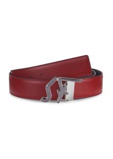 Ferragamo Fashion Logo Leather Belt