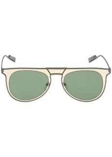 Ferragamo Metal Aviator Sunglasses