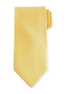 Ferragamo Feudo Gancio Silk Tie