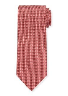 Ferragamo Fina Graphic Silk Tie