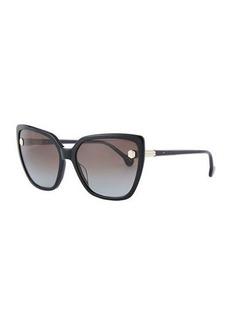 Ferragamo Fiore Cat-Eye Acetate Sunglasses