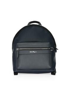 Ferragamo Firenze Colorblock Leather Backpack