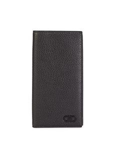 Ferragamo Firenze Leather Long Bi-Fold Wallet