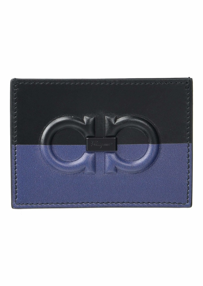 Ferragamo Firenze Logo Card Holder - 66A469