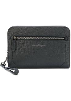 Ferragamo Firenze zipped leather pouch
