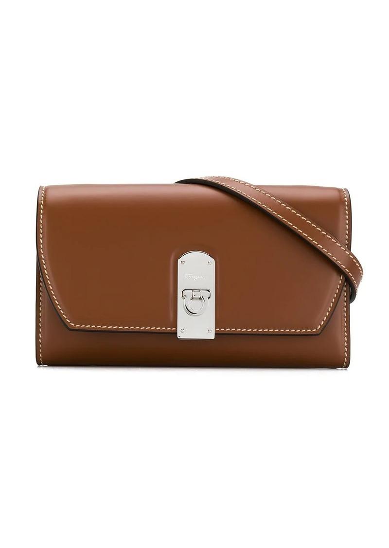 Ferragamo flap-front belt bag