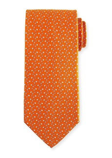 Ferragamo Flash Desk Lamp Silk Tie  Orange