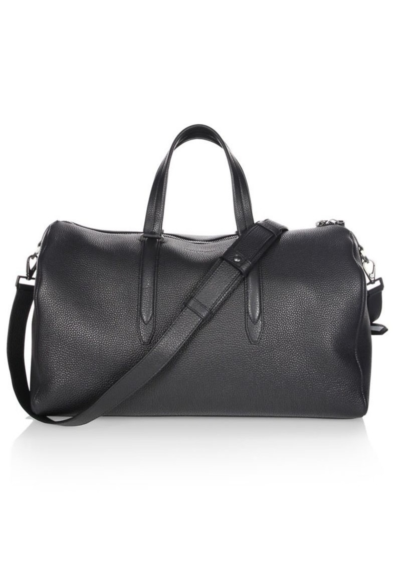 Ferragamo Float Weekender Nero Duffle Bag