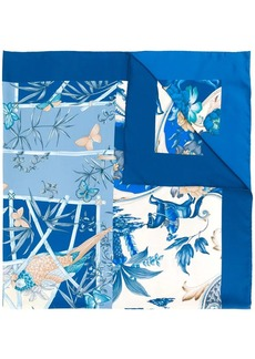 Ferragamo floral print foulard