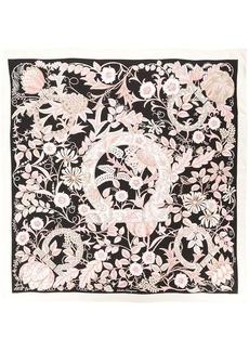 Ferragamo floral print Gancio scarf