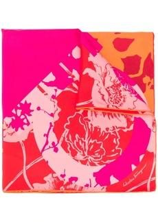 Ferragamo floral print scarf